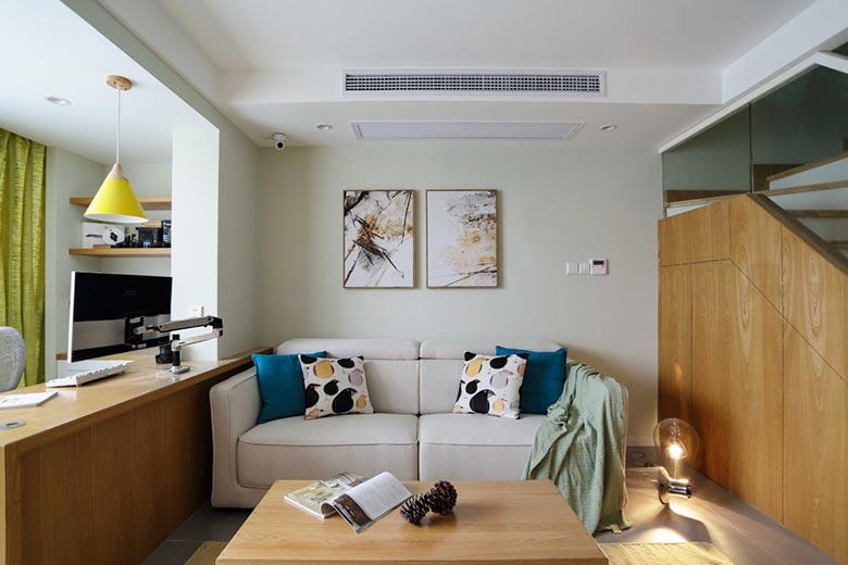 客厅沙发摆放装修装饰效果图
