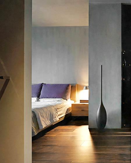 160平复式楼装修卧室木地板图片