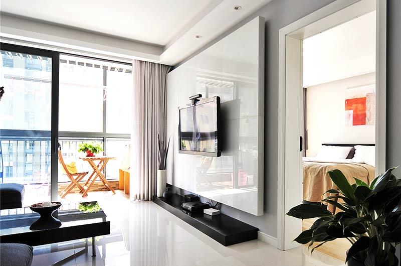信誉博彩安全吗:北欧风格客厅三层独栋别墅阳台花园品牌浴室柜效果图