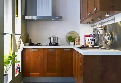 小户型厨房装修效果图 打造小户型个性厨房