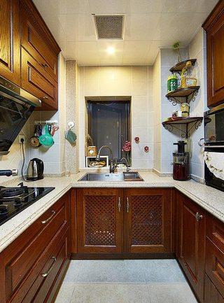美式厨房设计参考图