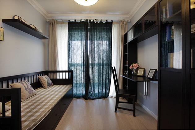书房带床装修效果图 拥有卧室书房一体化