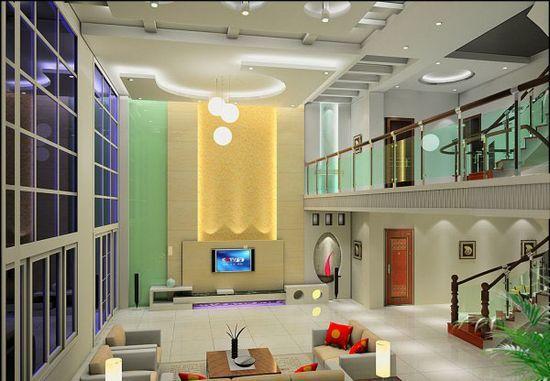 楼中楼设计装修效果图 小别墅楼中楼装修参考