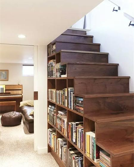 实木复式楼梯装修