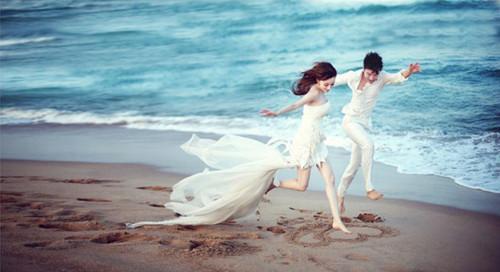 三亚婚纱照排行榜 2017三亚婚纱摄影哪家好图片