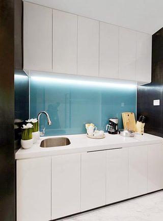 单身公寓厨房装修设计图
