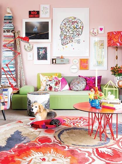 客厅色彩搭配装修装饰图片