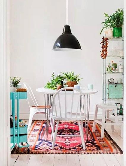 客厅色彩搭配布置欣赏图
