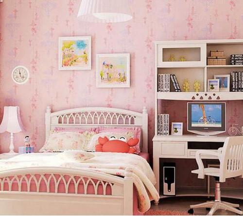 少女卧室装修效果图 粉嫩女孩闺房养成记