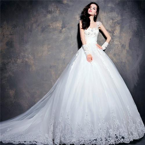 韩式婚纱图片欣赏 韩式婚纱照怎么拍好看图片