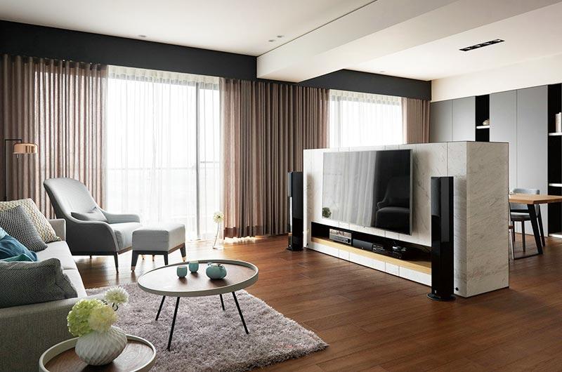 现代简约风格公寓效果图装修