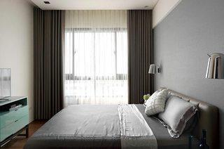 简约风格三房二厅装修主卧室设计