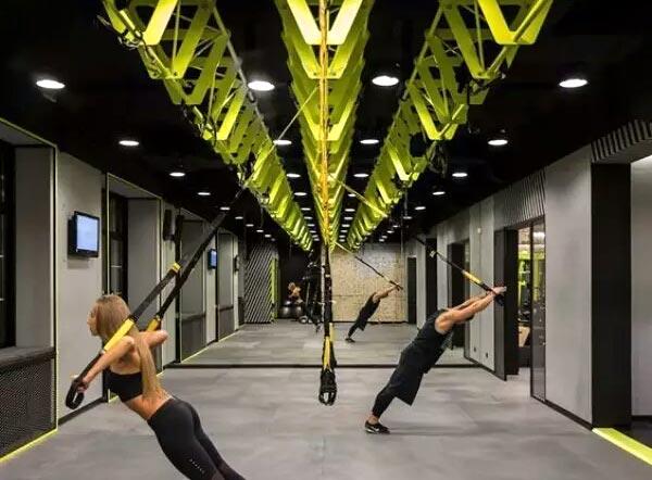 室内健身房装修效果图