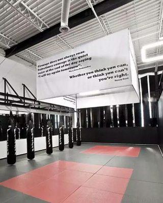 健身房装修装潢图