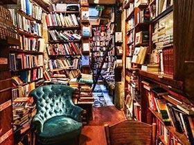 书中泛黄的记忆  10款复古风书房设计图片
