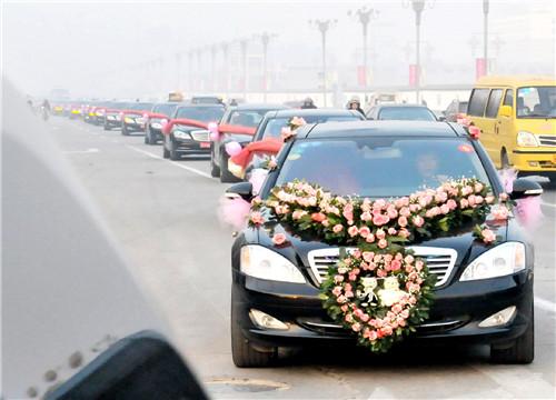 上海婚车出租价格 2017上海婚车租赁价格一览表