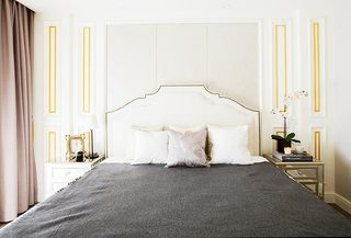 卧室床头背景装修图片大全