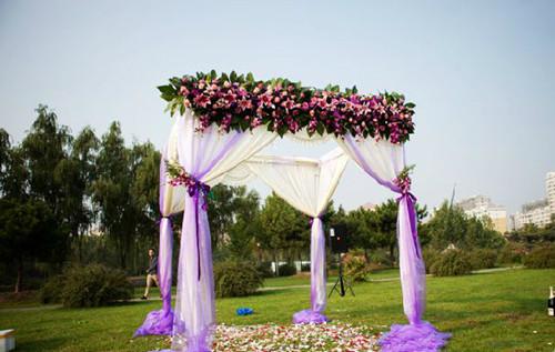 露天婚礼现场布置图片 如何布置露天婚礼会场
