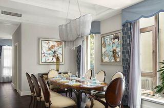 350平混搭风格别墅餐厅效果图片
