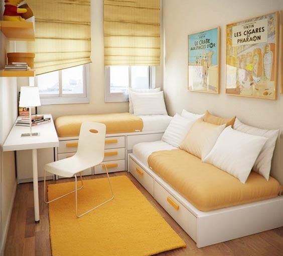 蜗居空间卧室装修效果图