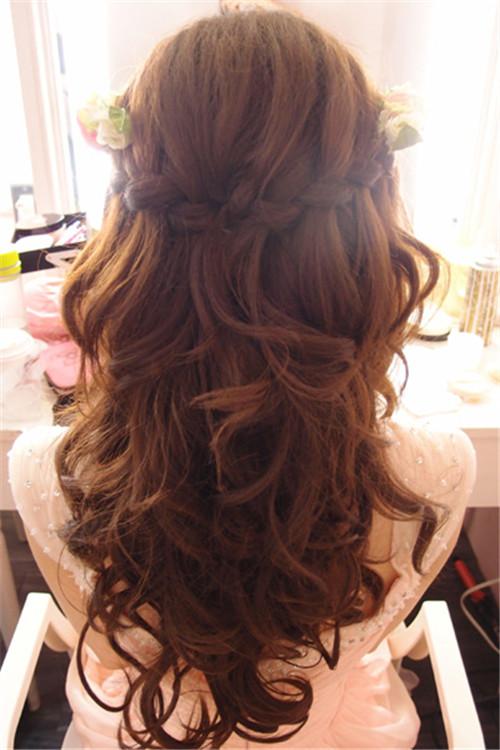 新娘编发造型图片 新娘结婚发型有哪些图片