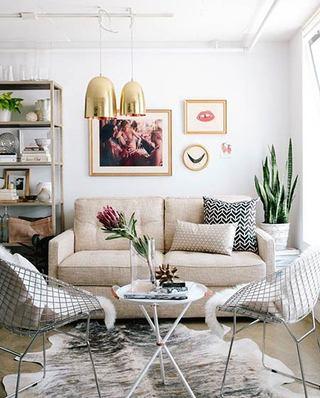 小客厅装修双人沙发图