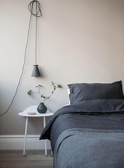 卧室床头背景灯具图