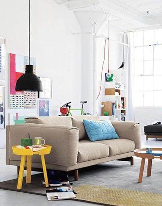彩色客厅装修装饰效果图