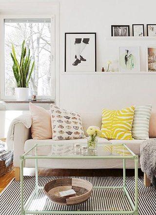 彩色客厅设计参考图片