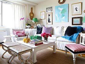 让室内温馨起来  10款彩色客厅欣赏图片