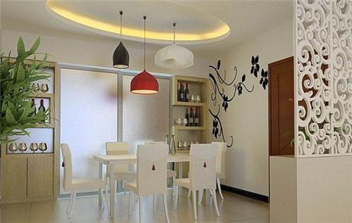 小户型餐厅装修效果图 小餐厅让我们品味舌尖上的美味