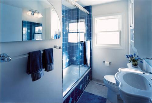 小户型浴室装修效果图 打造舒适温馨的洗浴空间_按__