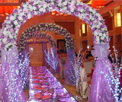 婚庆场景布置图片欣赏 婚礼现场怎么布置