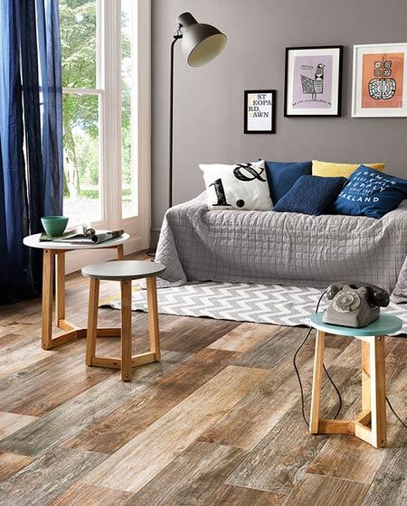 北欧风格木地板装修设计图