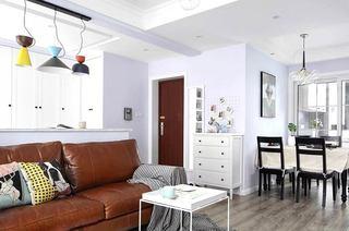 105平北欧三居客厅效果图