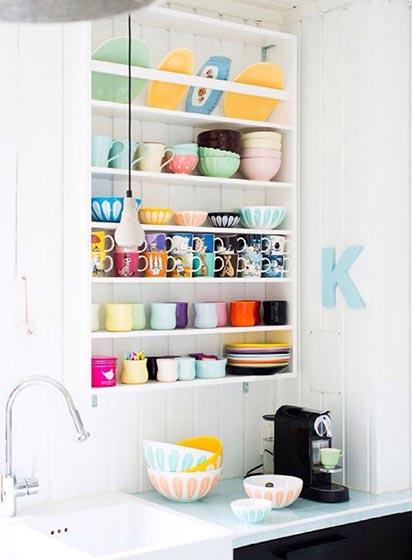 白色厨房设计实景图