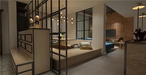三室二厅装修效果图 130平房屋室内装修设计案例
