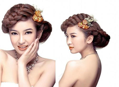 新娘可爱妆容化妆步骤