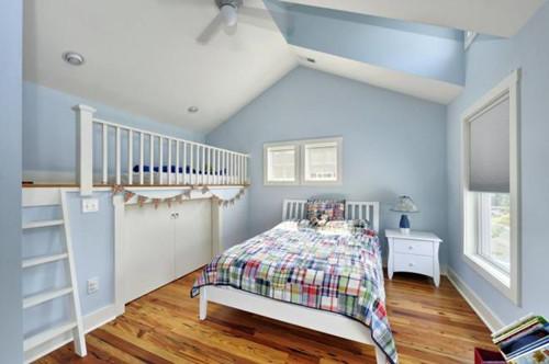 青少年房间装修效果图 青少年男孩房间设计看过来