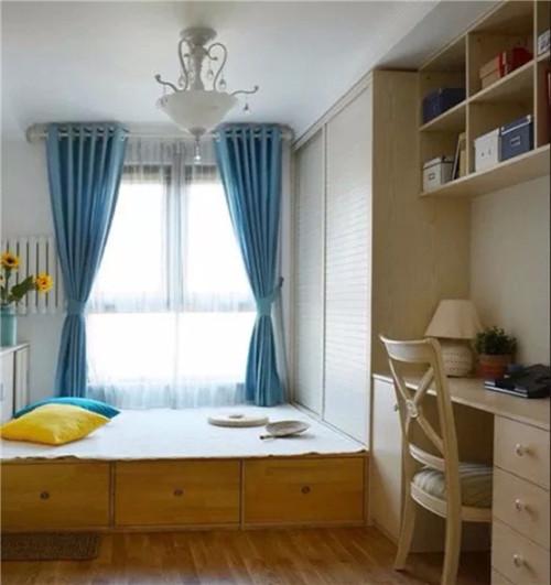 9平米卧室装修效果图 小卧室装修与榻榻米更配哦