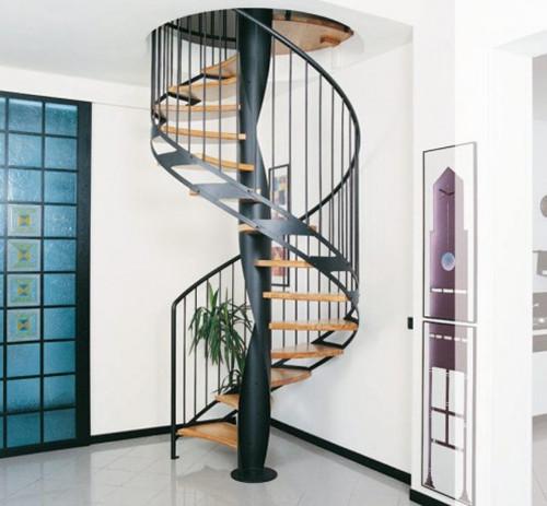室内楼梯踏步尺寸规范 室内楼梯设计效果图图片