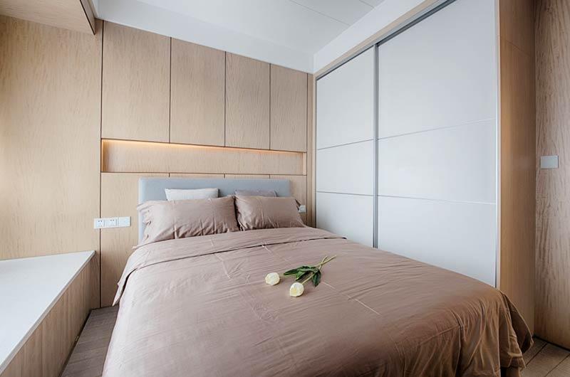 144平简约四房装修次卧室装修图