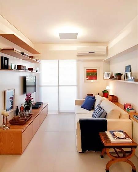 小户型装修客厅沙发床设计