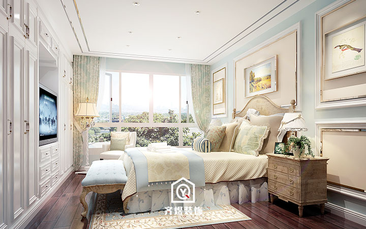 长宁区 黄金豪园 美式风格