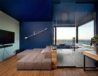 80平米单身公寓装修装饰效果图