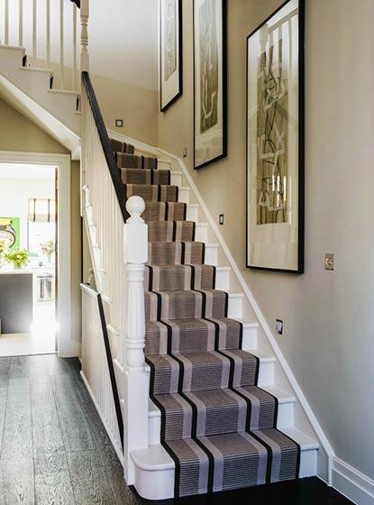 楼梯地毯布置摆放图