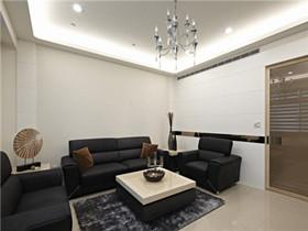90平米5万装修案例  教你如何省钱装出优雅三居室