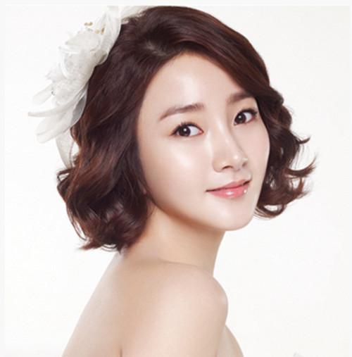 韩式短发婚纱照怎么好看 短发婚纱照都有什么造型