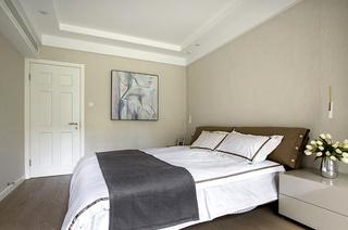 200平复式楼装修主卧室设计图