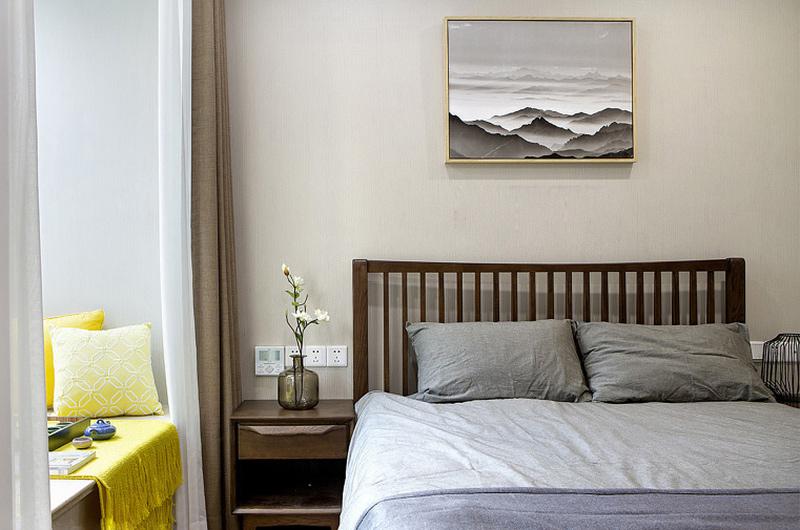 200平复式楼装修卧室飘窗设计